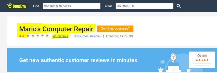 Computer Repair 77023